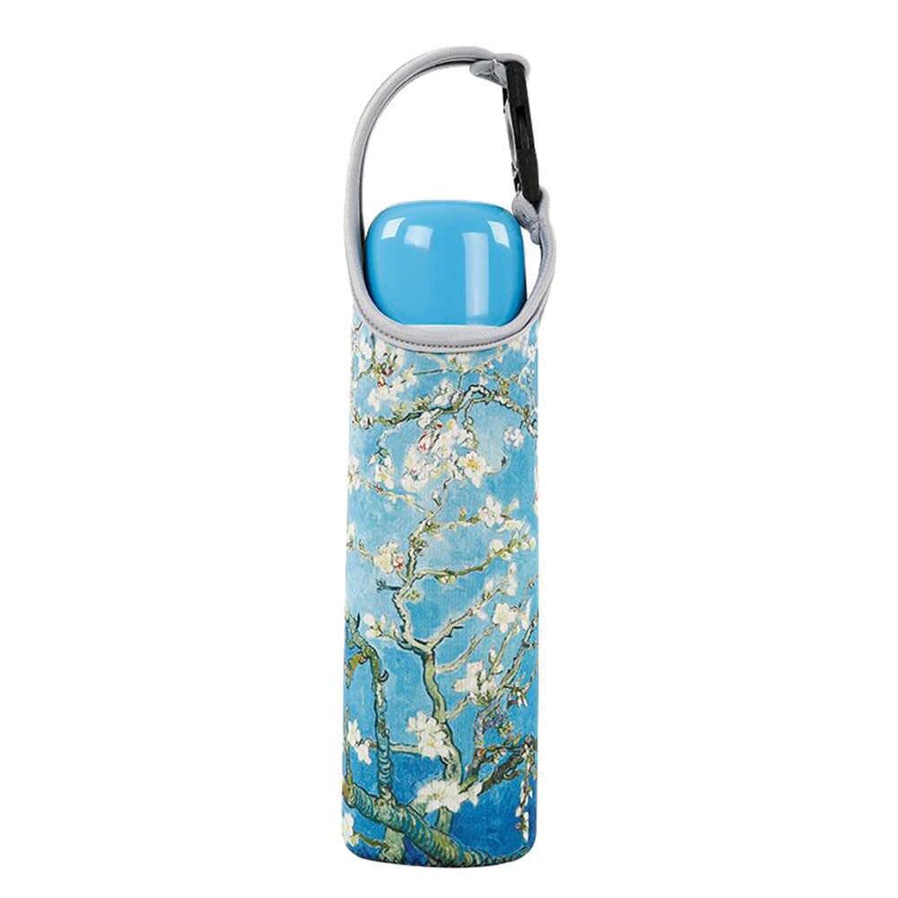 ใหม่แบบพกพาฉนวนความร้อนถ้วยกรณีน้ำขวดครอบคลุม Protector กระเป๋าเก็บ Handle