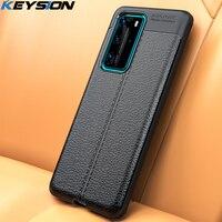 KEYSION Antiurto per il Caso di Huawei P40 Lite P30 Pro P20 Compagno 30 Copertura Del Telefono Del Silicone per Honor 30 20 Pro 30 S 10i 10Lite 8A 8X 9A