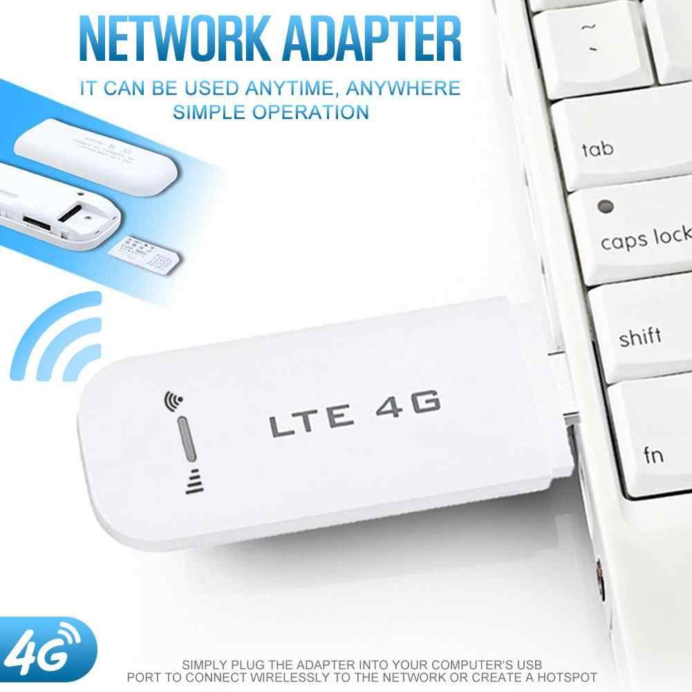 4G LTE סמארטפון אוניברסלי נייד USB מודם רשת מתאם עם WiFi Hotspot ה-SIM כרטיס 4G אלחוטי נתב מיני USB Dongle