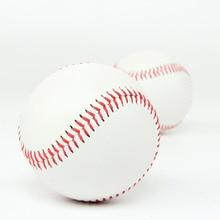 9 дюймов прочный игра упражнения Профессиональный ПВХ верхняя Бейсбол, со стразами, ручная работа на открытом воздухе игры сшитые спортивных тренировок мягкий