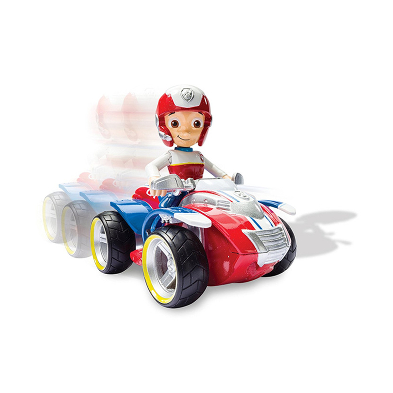 Paw Patrol Rescue Vehicle Ryder Anime Action Figure High Quality Model Cars Boys Toys Child Birthday Xmas Gifts