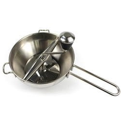 Młynek do żywności ze stali nierdzewnej Metal warzywo/marchew/pomidor/ziemniak/ryż mikser ekspres Film może być wymieniony narzędzia kuchenne w Miksery żywności od AGD na