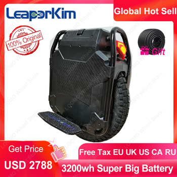 LeaperKim Veteran Sherman Electric Unicycle 100.8V 3200WH,motor Power 2500W,Off-road,20-inch,NCR18650GA Battery,max 70km/h