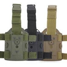 Тактическая ножная кобура пистолет Боевая кобура Glock 17 Colt 1911 Beretta M9 Sig sauer P226 страйкбол правая рука пистолет кобура для переноски
