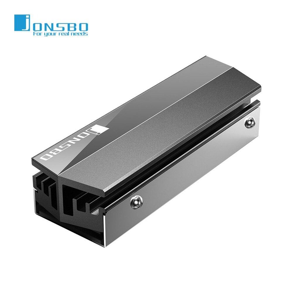 Jonsbo Dissipador Cooler NVME M.2 NGFF SSD 2280 Disco Rígido de Estado Sólido Do Radiador do Dissipador de Calor De Refrigeração De Alumínio Dissipação de Calor Passivo