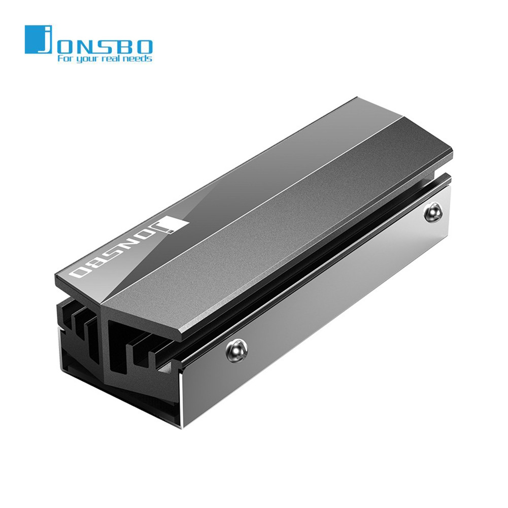 Jonsbo SSD Heatsink Cooler NVME NGFF M.2 2280 Solid State Hard Disk Radiator Heat Sink Passive Heat Dissipation Aluminum Cooling
