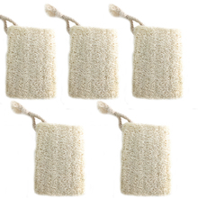 Hot Household Merchandises Natural Loofah Bath Body Remove Dead Skin Made Pack of Organic Shower Sponge Scrubber Pad