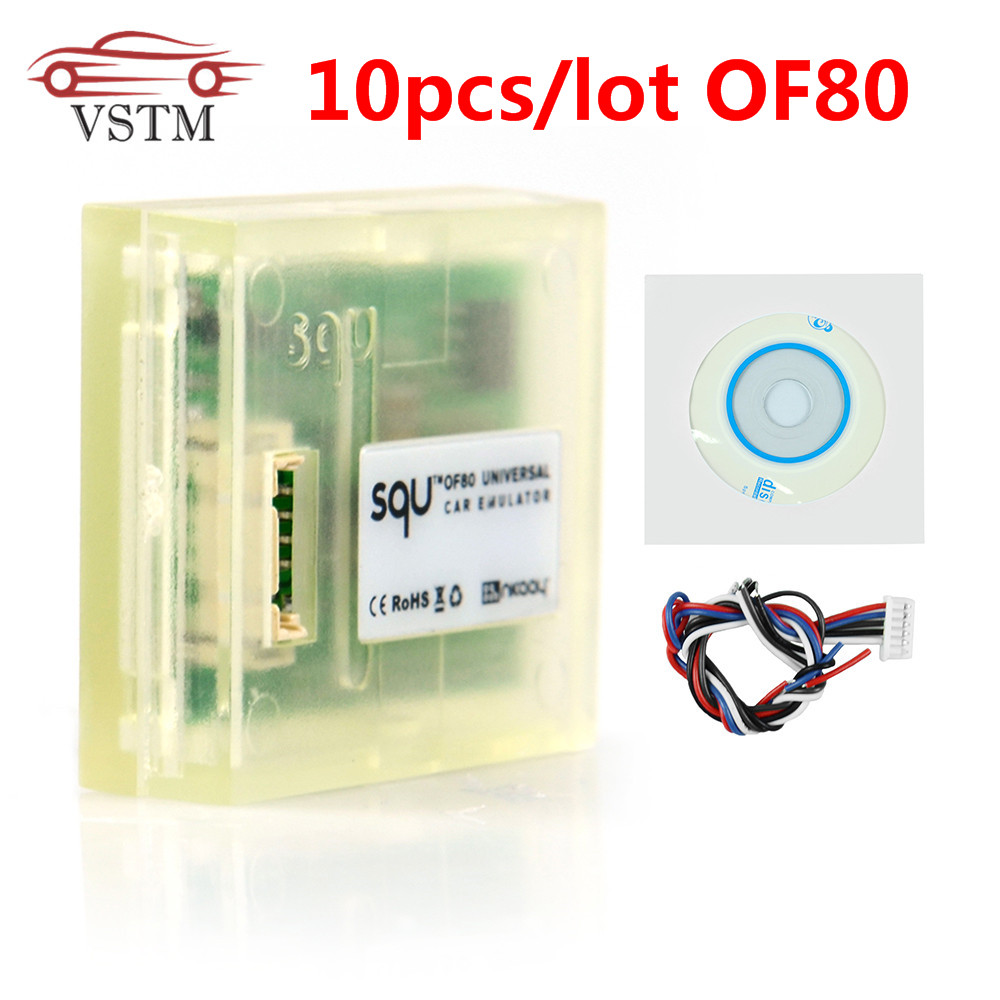 SQU OF80 Universal Car Emulator SQU OF80   OF68 supports IMMO For Seat occupancy sensor Tacho Programs