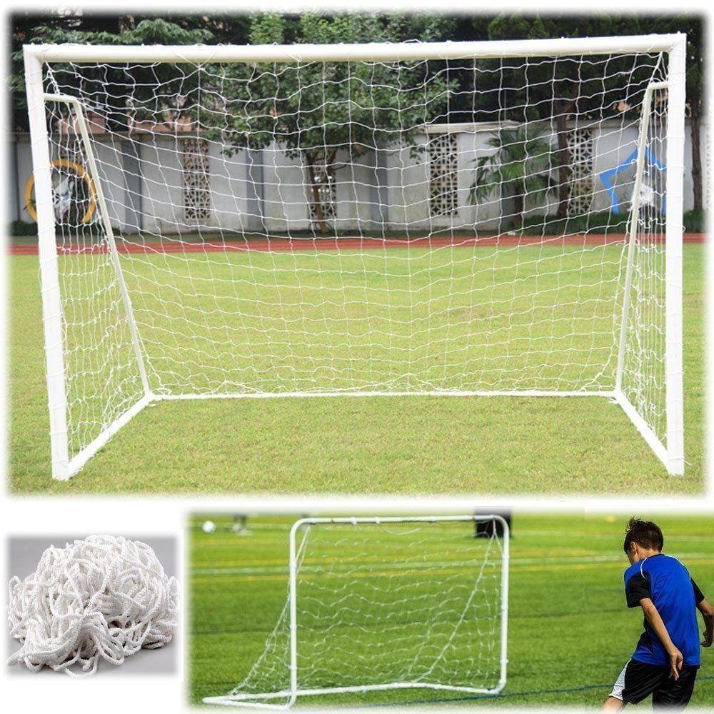 Hot Full Size Football Net For Soccer Goal Post Junior Sports Training Football Net Soccer Net Sports Training Match Adult Kid