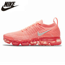 Nike Air Vapormax Flyknit 2.0 Women's Running Shoes Light Pink Lightweight Non-slip Shock 942843 800 EUR Size W(China)