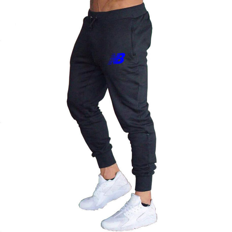 2021Mens Joggers Casual Pants Fitness Men Sportswear Tracksuit Bottoms Skinny Sweatpants Trousers Black Gyms Jogger Track Pants