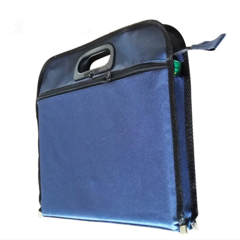 Waterproof Business Handbag Portfolios Organizers Waterproof Travel Pouch Zippered Case For Ipads Notebooks Pens Storage
