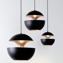 Luces Led colgantes para sala de estar, lámpara colgante con diseño de bombilla E27 para decoración de dormitorio, hogar y Loft