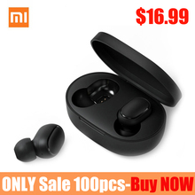 Original Xiaomi Redmi Airdots TWS Wireless Bluetooth Earphone Stereo bass Bluetooth 5.0 With Mic Handsfree AI Control ON Sale xiaomi tws airdots bluetooth earphone youth version stereo bass bt 5 0 headphones mic handsfree earbuds ai control