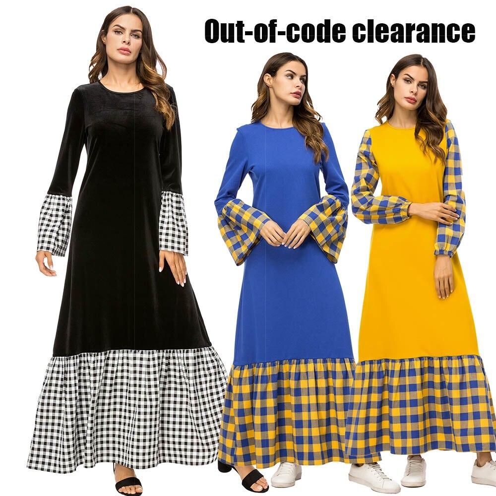 BNSQ Abaya Dubai Muslim Hijab Dress For Women Moroccan Kaftan Caftan Turkish Dresses Prayer Islamic Clothing Robe Femme Oman
