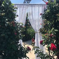 Free shipping 100%cotton thread pastoral wind white lace window curtain crocheted partition curtain living room curtain LQ