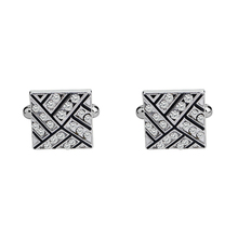 Bonito Gemelos Classic Silver-color Mens Cufflink Luxury gift Party Wedding Suit Shirt Cuff links