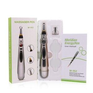 Image 5 - 3 1 で電気鍼ペンマグネット治療癒すマッサージ銃子午線レーザー治療癒すエネルギーペンリリーフ痛みツール