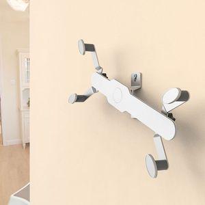 Image 4 - ユニバーサルアルミ合金タブレット壁マウントホルダースタンド 360 回転ロータリータブブラケット携帯電話 O26 19 ドロップシップ