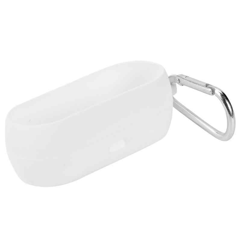 Dla QCY T1C bezprzewodowa Bluetooth słuchawki ochraniacz na drążek skrzyni biegów odporna na kurz, miękkie etui dla QCY ochronna przypadku