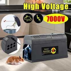 Eua/reino unido/ue plug elétrica de alta tensão rato ratinho armadilha rato assassino eletrônico roedor mouse zapper uso doméstico controle de pragas