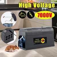 Us/Uk/Eu Plug Elektrische Hoogspanning Muis Rat Trap Mouse Killer Elektronische Rodent Mouse Zapper Thuisgebruik ongediertebestrijding