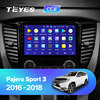 TEYES CC2 For Mitsubishi Pajero Sport 3 2016 2017 2018 Car Radio Multimedia Video Player Navigation GPS Android 8 1 No 2din flash sale