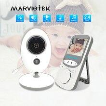 Aparat dla dzieci z monitorem Baba przenośny niania elektroniczna Baby monitor LCD niania wideo domofon elektroniczny niania Walkie Talkie opiekunka do dziecka na podczerwień VB605
