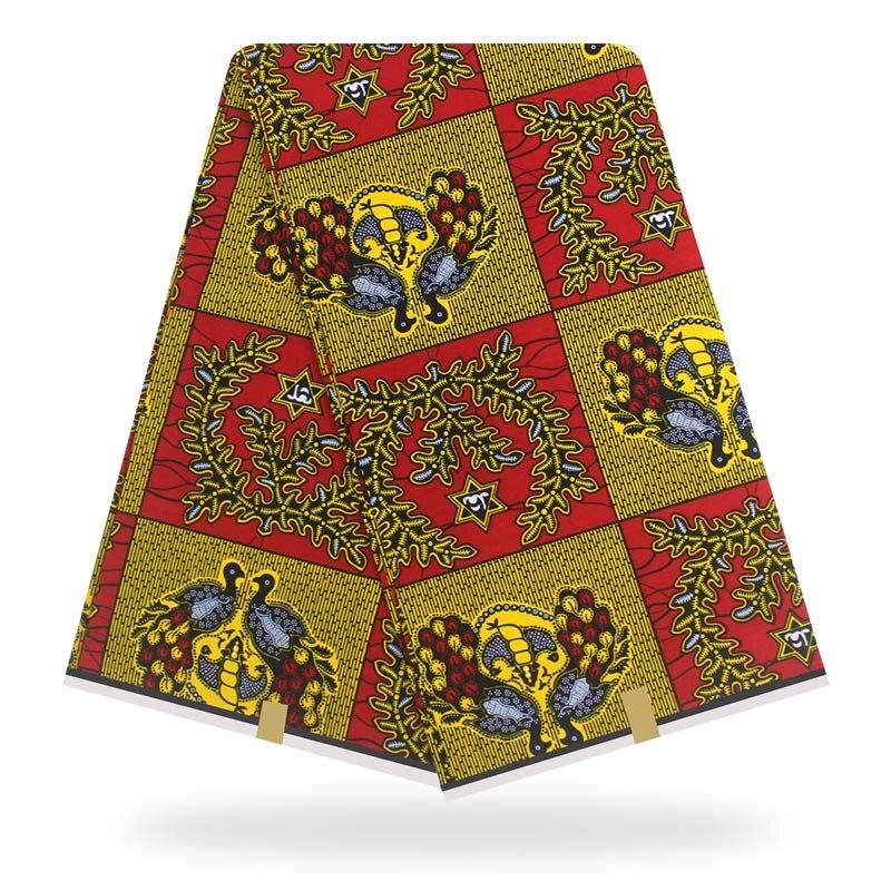 African Wax Prints Fabric 100% Cotton Wax Veritable Ankara Fabric Veritable Wax Veritable Guaranteed Real Dutch Wax 6yards