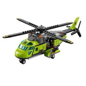 Image 3 - 348 قطعة مدينة سلسلة بركان امدادات هليكوبتر الجيولوجي التنقيب Legoings 60123 نموذج بناء كتلة الطوب اللعب هدية