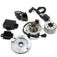 Высокая производительность статор ротор комплект Байк LF для Lifan 150cc CDI использовать для мотоциклов аксессуары