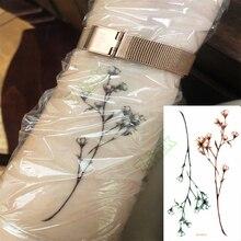 Водостойкая временная татуировка наклейка сексуальный ребенок дыхание цветок птицы пистолет перо переводная вода поддельные флэш-тату