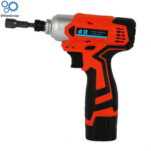 цена на 16.8v-3 rechargeable impact driver Lithium battery impact screwdriver Household impact drill electric drill Decoration tool