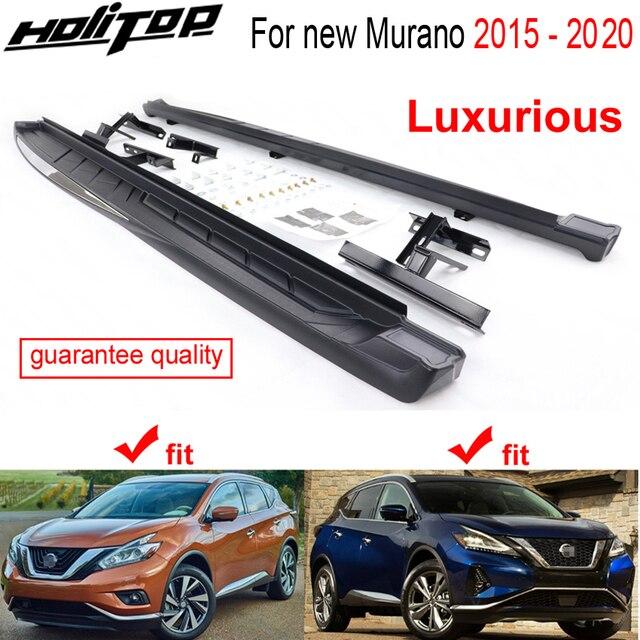 Luksusowa deska do biegania nerf bar boczny krok bar dla Nissan Murano 2015 2016 2017 2018 2019 2020, darmowa wysyłka do azji, promocja