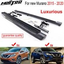 หรูหราวิ่ง NERF ด้านข้าง Bar สำหรับ Nissan Murano 2015 2016 2017 2018 2019 2020,จัดส่งฟรี Asia,โปรโมชั่น