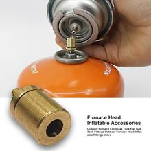 Refill-Adapter Gas-Cylinder Butane Canister Camping Stove Hiking Inflate for Outdoor