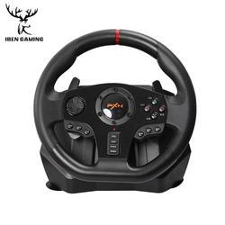PXN V900 غمبد تحكم الألعاب عجلة القيادة الكمبيوتر المحمول سباق لعبة فيديو الاهتزاز للكمبيوتر/PS3/4/Xbox-One/Xbox 360/N-التبديل