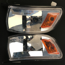 Car Crystal Turning Light Corner Light Lampshade For Toyota Chaser JZX90 2Pcs/Pair 1992 1993 1994 1995 1996 1997 1998 1999 2000