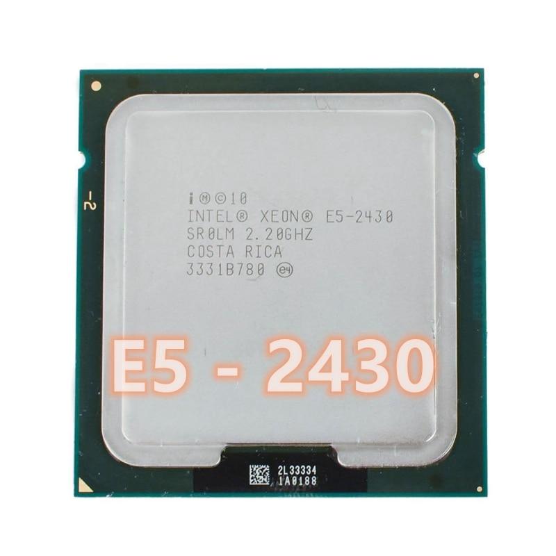 Intel Xeon E5-2430 E5 2430 2.2GHz Six-Core Twelve-Thread CPU 15M 95W LGA 1356 Processor