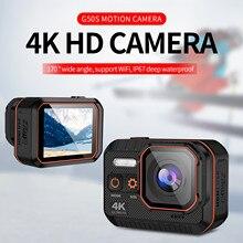 Cámara deportiva Ultra HD 4K, Control remoto, pantalla de 2 pulgadas, 1080P, 60 Fps, casco impermeable, Go Sport Pro Hero 5