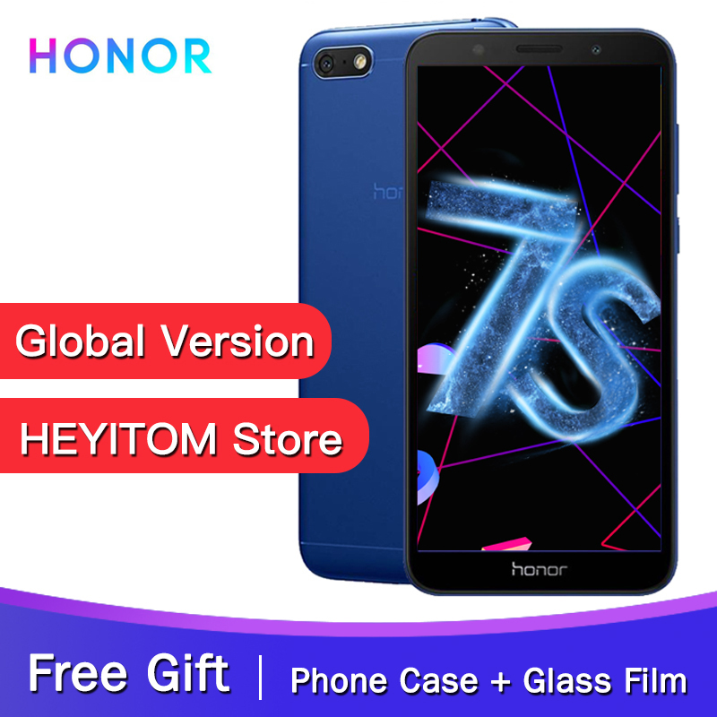 "Original Global Version Honor 7S  MT6739 Quad Core 13MP Rear Camera 3020mAh Battery 5.45"" 18:9 Screen 2GB 16GB Smartphone-in Cellphones from Cellphones & Telecommunications"