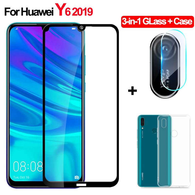 2019 LGYD 25 PCS AG Matte Frosted Full Cover Tempered Glass for Huawei Y6