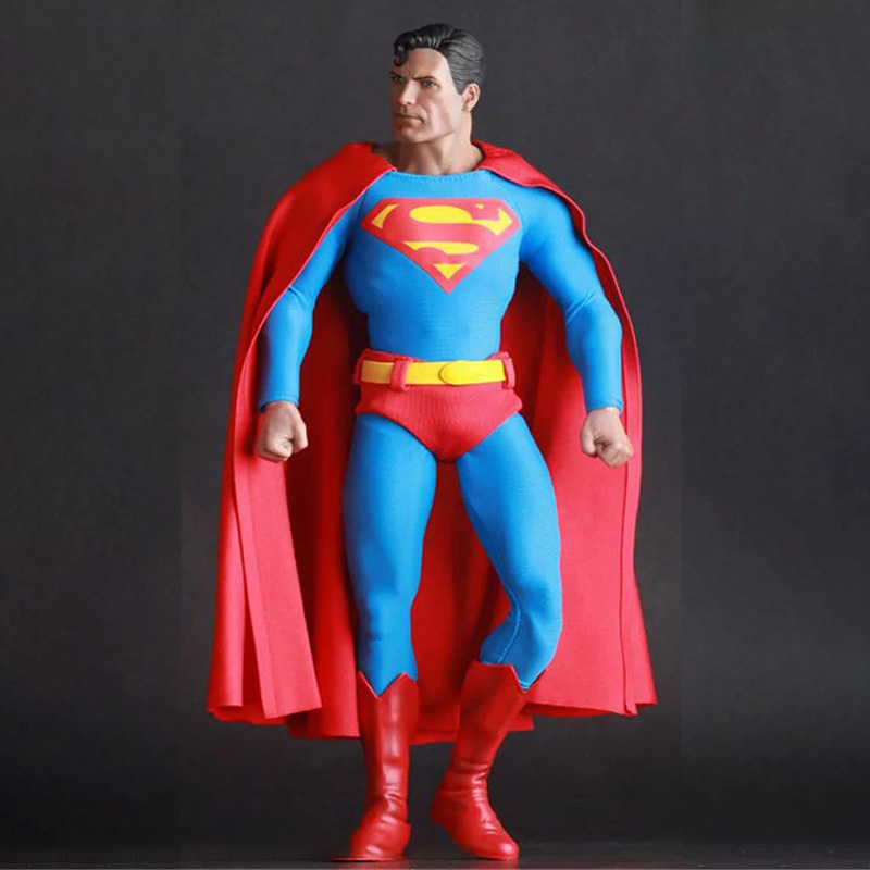 1/6 Scale Superman Action Figure Christopher Reeve Full Set Doll Collection Model Toys For Collection Or Gifts For Kids Children