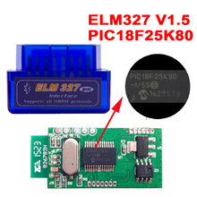 Original ELM327 V1.5 ELM 327 Bluetooth OBD2 V1.5 Android Cars Scanner Automotive OBD 2 Auto Diagnostic Tools OBDII Read Scaner(China)