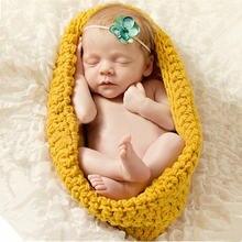 Детская фотография Реквизит спальный мешок для новорожденных