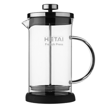 1PC French Press Coffee Maker Teapot Filter Press Stainless Steel Coffee Percolator Pot 350ml and 600ml  Manual Coffee Maker Pot