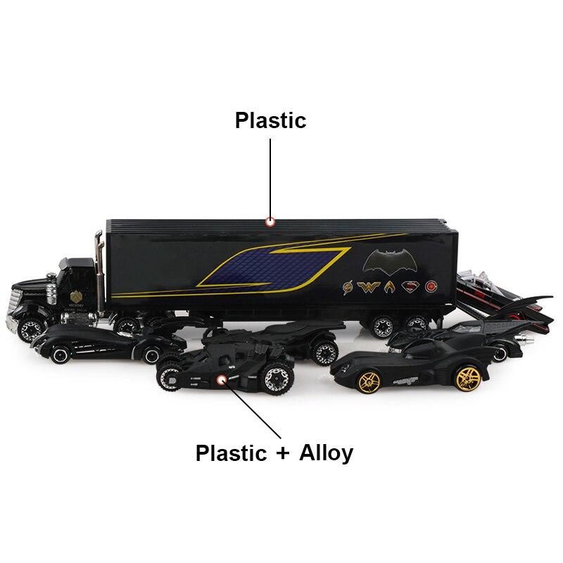 7 шт./компл. литые под давлением автомобили 3:169, модель грузовика, Классические игрушечные машины, подарок для мальчика на Рождество, подарок ...