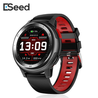 Eseed DT68 smart watch men IP68 waterproof 1.2 inch full touch screen 30 days long standby ECG smartwatch for iphone samsuang
