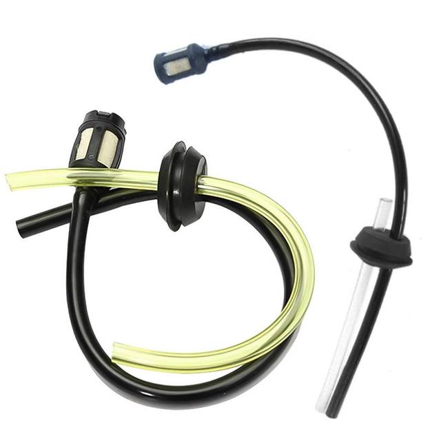 4PCS//set Strimmer Trimmer Fuel Petrol Tank Filter Kit For Brush Cutter Hose Pipe