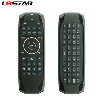 Russian Mini keyboard G7V Backlit Voice Search Smart Air Mouse Gyroscope IR Learning 2.4G Wireless remote for Android TV BOX